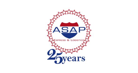 ASAP Express & Logistics Celebrates 25th Anniversary